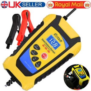 Car Motorcycle Battery Charger 6V/12V/24V Smart Pulse Repair Leisure Automatic