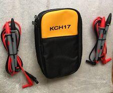 KCH17 Soft Case15B 17B 18B 115 116 117 175 177 179, 2 Fluke10A TL DMM 71  PROBES