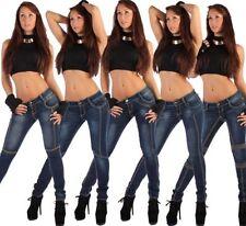 Indigo -/darkwashed Damen-Jeans Hosengröße 44 in Übergröße