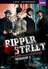 RIPPER STREET - SEASON 3  -  DVD - New & sealed PAL Region 2