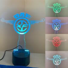 DAF XF Truck 3d led lamp,7 Colors changing with remote controll,Ideal For Gift