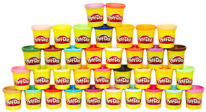 Play-Doh 36-Can Mega Pack of Non-Toxic Modelling Compound, 85g Cans