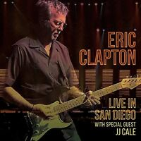 ERIC CLAPTON - LIVE IN SAN DIEGO (WITH SPECIALGUEST JJ CALE)  2 CD NEU