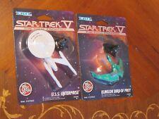 Star Trek V Birds of Prey and USS Enterprise Action Figure