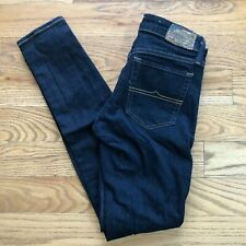 Denim & Supply Womens Skinny Jeans Blue Dark Wash Stretch 27 x 30 Excellent