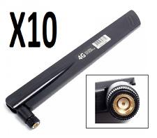 10X 50W 38dBi 50ohm 700-2700MHz SMA Glue Rod Omni Antenna Support LTE 3G 4G GSM