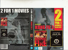 Breathing Fire-1991-Bolo Yueng/Screaming Ninja-1973-2 Movie-DVD