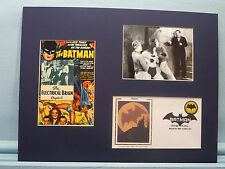 1943 Movie Serial - The Batman & First Day Cover of the Batman stamp