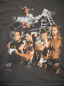 WWE (LG) T-Shirt SHAWN MICHAELS JOHN CENA REY MYSTERIO