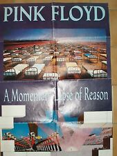"""poster PINK FLOYD """"A Momentary Lapse of Reason"""""""