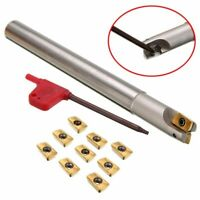300R C14-14-150 Lathe Turning Tool Holder+10Pcs APMT1135PDER Carbide Inserts T8