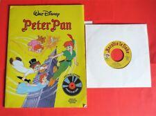 """Ascolta le fiabe: """"Peter Pan"""", con disco 45 giri, Mondadori 1983, raro"""
