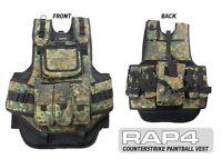 Counterstrike Paintball Vest (German Flecktarn) [BA5]