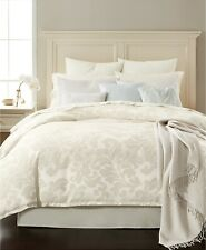 Martha Stewart Scrolling Jacquard Feather Breeze 14-Pc Comforter Set QUEEN Ivory