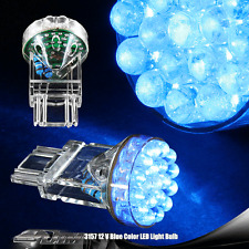 Universal 3156 Blue LED Tail Brake & Turn Signal LED Bulb