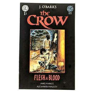 THE CROW: Flesh and Blood #1 Kitchen Sink Press (1996) J.O'Barr
