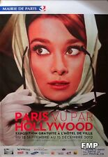 AUDREY HEPBURN - PARIS HOLLYWOOD 2012 EXHIBITION - CHARADE - ORIGINAL POSTER