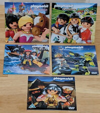 RARE NEW Playmobil 5 x DVDs Top Agents Egypt Pirates Country & Princess PROMO