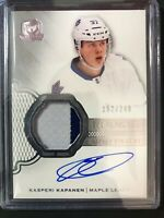 2016-17 The Cup Kasperi Kapanen Rookie Patch Auto Maple Leafs /249