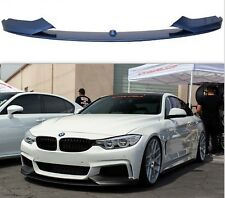 BMW 4 SERIES F32 F33 F36 FRONT PERFORMANCE SPLITTER LIP SPOILER DIFFUSER ABS