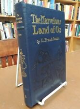 The Marvelous Land Of Oz Illustrated Easton Press Hardcover Leather L Frank Baum