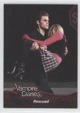 2011 Cryptozoic The Vampire Diaries Season 1 #37 Rescued Non-Sports Card o3e