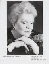 Maureen Forrester, Contralto- Music Memorabilia Photo