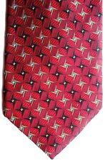 "Robert Talbott B.O.C. Men's Silk Tie 58.5"" X 4"" Multi-Color Geometric/Striped"