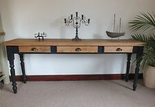 Long Elegant Console Table with Three Drawers.other Colours/Sizes