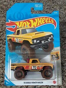 2021 Hot Wheels '70 Dodge Power Wagon #3/250 Baja Blazers 2/10 YELLOW