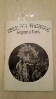 1970 Open Air Theatre Regent's Park: A Midsummer Night's Dream by W. Shakespare