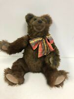 BEAVER VALLEY Bear Signed by Kaylee Nilan RARE 63/100 w/Tags 1992? 16""