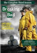 Breaking Bad The Complete Season 3 Deluxe 4dvd Bonus Over 10hrs Extras US