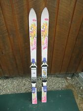 """Vintage 47"""" Long Skis White HEAD FOX Great Decoration!"""