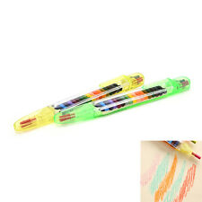 20 Colour Oil Pastel Crayons Pen Stationery Cartoon Children Gift tb