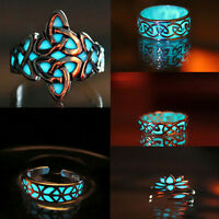 For Luminous Ring Gift Jewelry Lady Women Charms Rings Glow in the Dark Fashion