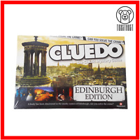 Cluedo Edinburgh Edition Board Game Classic Mystery Family Fun by Winning Moves