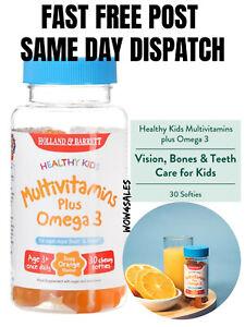 Holland & Barrett Healthy Kids Multivitamins plus Omega3 30 Chewy Softies