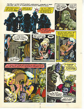 ELFQUEST hand colored art page Donning-Starblaze Book 2 pg 44 UNIQUE signed