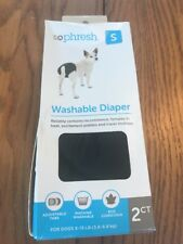 So Phresh Washable Diaper for Dogs Size S -2ct Ships N 24h