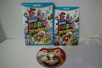 Super Mario 3D World (Nintendo Wii U, 2013) Complete, original blue box release