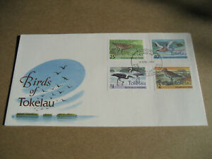 TOKELAU    1993   BIRDS OF TOKELAU  FIRST DAY ISSUE  COVER
