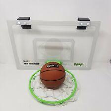 Sklz Pro Mini Basketball Hoop Glow In The Dark Midnight Edition Hoop and Ball!