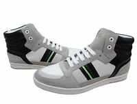 Hugo Boss Mens Ray Pack Mid Casual Lace Up Athletic Fashion Sneakers Shoes Kicks