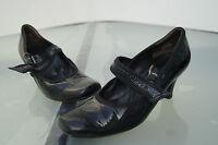 Paul Green Damen Schuhe Pumps mit Absatz edel Gr.4/ 37 Lack Leder schwarz TOP
