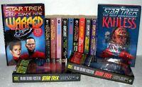 13 Star Trek Paperbacks & Hardback - Various Titles and Authors. Collection/Lot