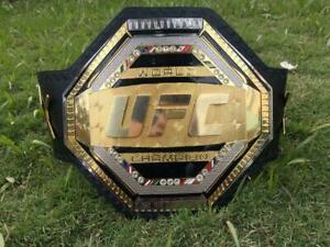 World Ufc Legacy Championship Belt // Adult Size // Leather ( Rplica )