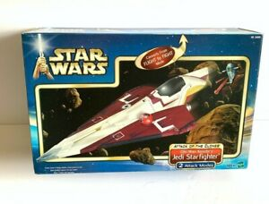 Hasbro Star Wars AOTC OBI-WAN JEDI STARFIGHTER vehicle 2002