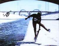 Thalente Biyela authentic signed skateboarding 8x10 photo |CERT Autograph A0002
