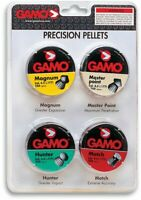 PELLET GUN PELLETS AMMO Combo Pack Hunting 1000ct .177 Cal Gamo NEW FREE 2 DAY